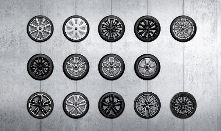 MINI Wheel Configuration, Rims