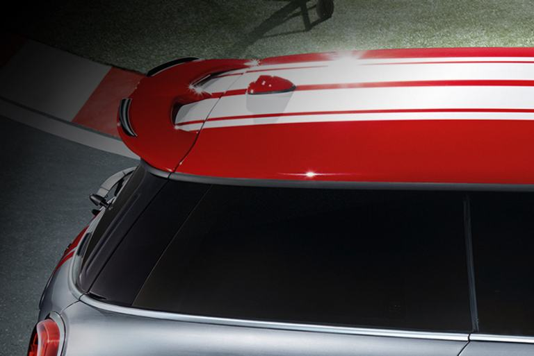 MINI John Cooper Works Concept aerodynamic features