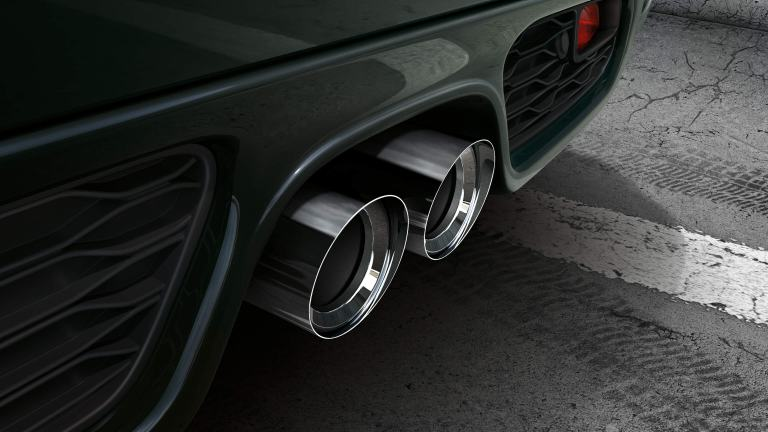 JCW tail pipe